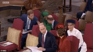 Royal Watchers Praise 'Cool' Prince Edward for 'Chatting' and 'Giggling' with Prince Harry and Meghan Markle at their Final Royal Engagement