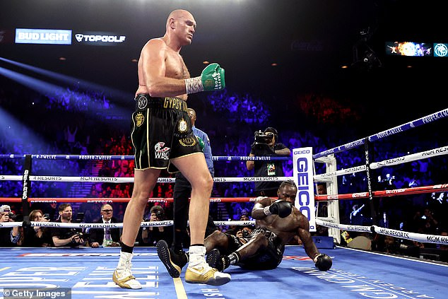 Fury is on top of the world after dismantling Deontay Wilder in a Las Vegas showdown