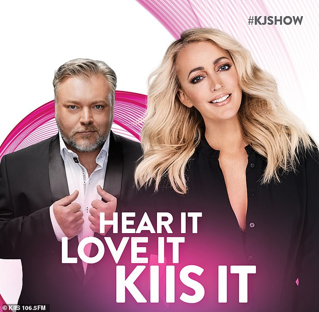 Tune in: The Kyle and Jackie O Show airs weekdays from 6am on Sydney's KIIS 1065