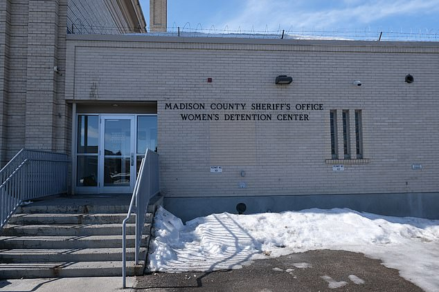 The woman nicknamed 'Missy Cook' was housed in the same pod as Lori at the Madison County Jail (pictured) in March
