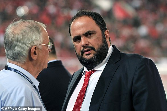 Olympiakos' owner Evangelos Marinakis has tested positive for the coronavirus