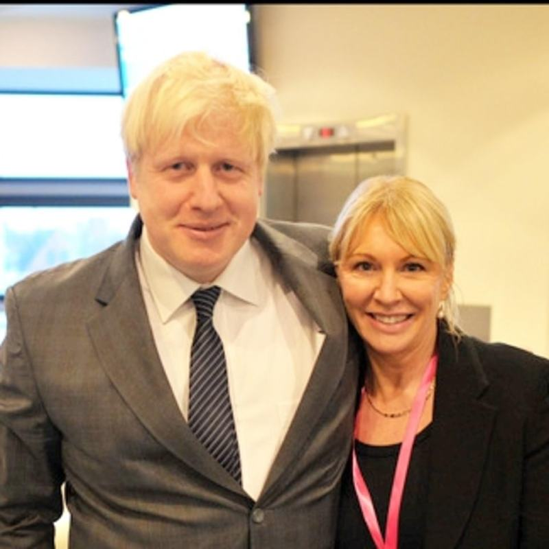 There are growing calls for the PM to be tested after he was with Ms Dorries (pictured together last year) in No 10 for an International Women's Day event also attended by Carrie Symonds