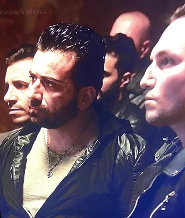 """Luca, na zdjęciu w kadrze z Gomory, grał członka gangu """"fiarmante"""" w przebojowym serialu włoskiej mafii"""