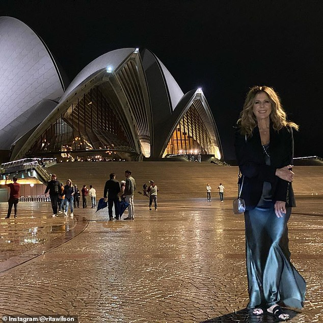 Down Under: Rita was in Sydney last weekend enjoying the sights and sounds of the city