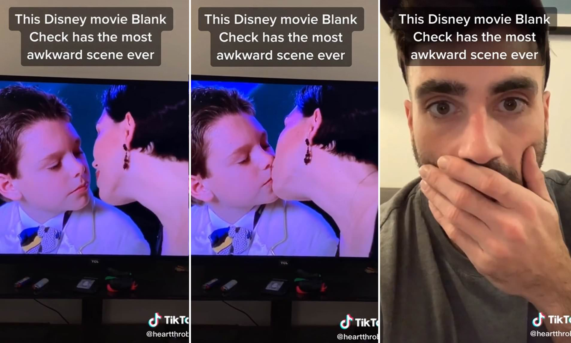 Disney Users Are Left Outraged By Kissing Scene In Blank Check