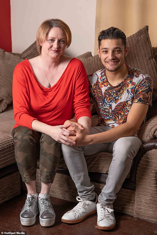 Woman fell in love with son's best friend who is 22 years her junior    Daily Mail Online