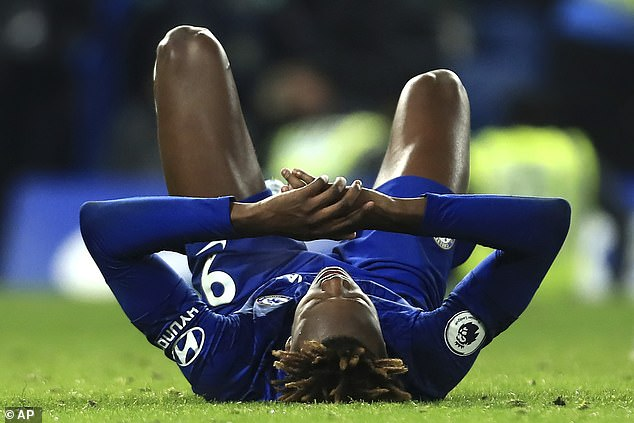 Chelsea forward Tammy Abraham has been struggling with an ankle problem for some time