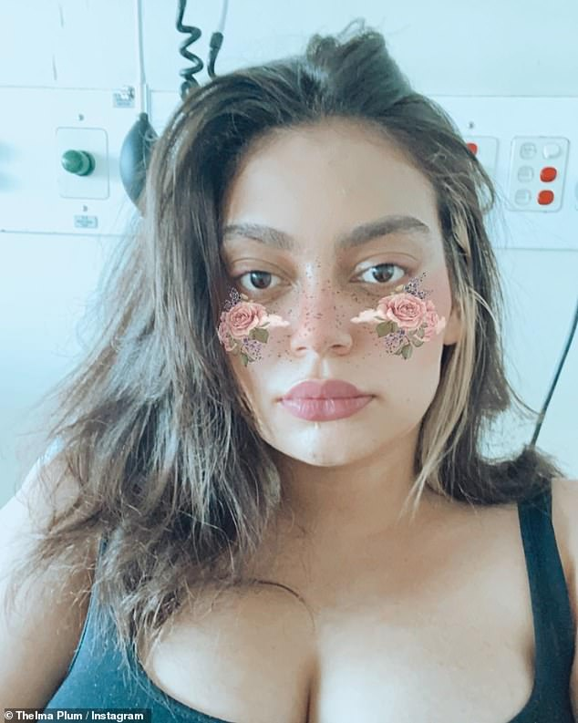Diagnosis: Thelma told Instagram fans in March that she had been diagnosed with COVID-19. The Better in Blak artist tested positive in Australia after returning home from London