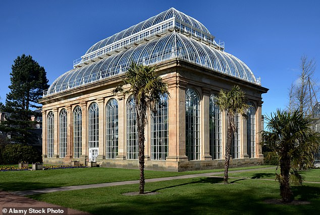 Sir Peter Hutchinson - the former chairman of trustees of the Royal Botanic Garden in Edinburgh (pictured) - was an insurance broker from Kippen in Stirlingshire but also travelled the world looking for rare plants