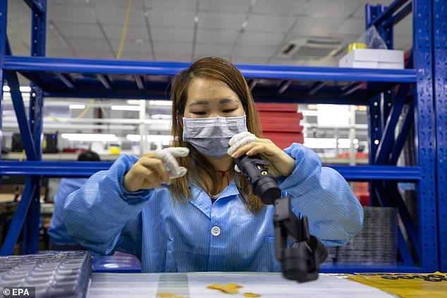 Air quality improvements are likely to be reversed when China ramps up to its full industrial capacity at the end of the virus crisis