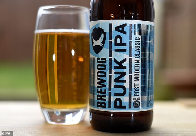 'Say hello to Punk Sanitiser … It's time to keep it clean,' the firm wrote on Instagram. The move, they added, was 'to help with the shortages', as they were determined 'to do everything we can to try and help as many people as possible stay safe.' The new hand sanitiser takes it name from BrewDog's popular Punk IPA craft beer
