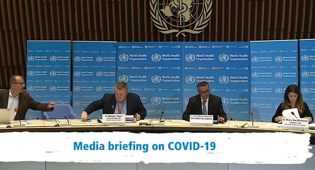 Countries that have committed to joining the trial are Argentina, Canada, France, Norway, South Africa, Spain, Switzerland and Thailand - but not the US. Pictured: WHO media briefing