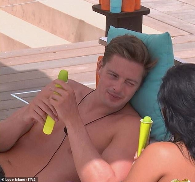 Back to the day job: He returned to his job as a doctor five months after appearing on the 2018 series of popular ITV2 dating show Love Island