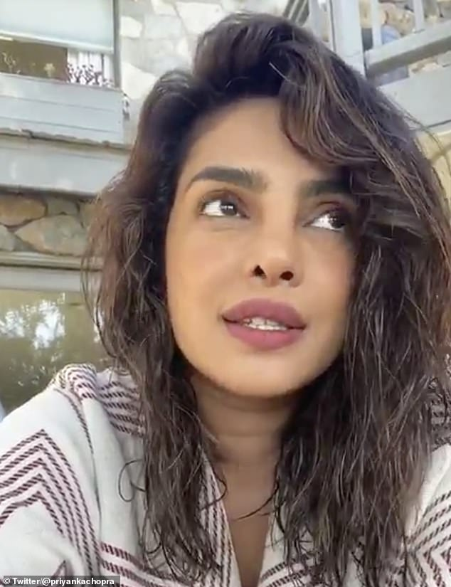 Getting Some Answers: Priyanka later revealed that in an effort to try to dismantle the masses of information around the virus, she had organized a live chat with WHO representatives