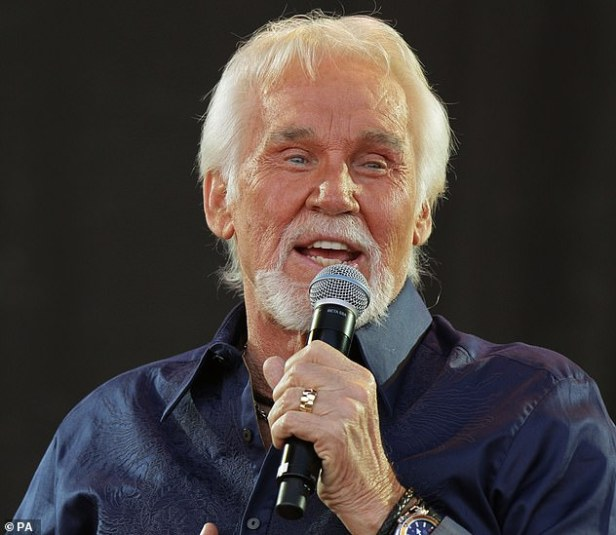 Country music icon Kenny Rogers (pictured) has died aged 81, his family confirmed