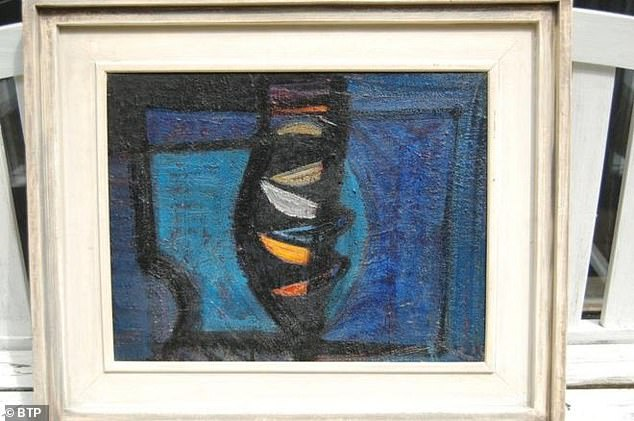 'Blue Harbour' by renowned artist Sir Terry Frost was created in 1954 in St Ives, Cornwall