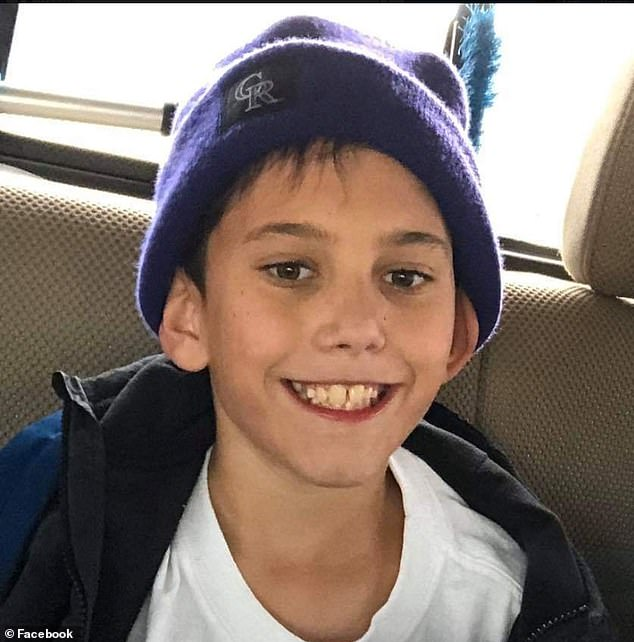 The El Paso County Sheriff's Office said they were contacted by the Santa Rosa County Sheriff's Office in Florida last Wednesday about the remains of a boy recovered in Pace, north of Pensacola. Those remains are believed to be Gannon's (pictured)