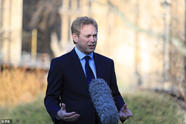 Transport Secretary Grant Shapps added: 'We're in close contact with airlines, who are working tirelessly to ensure British citizens travelling overseas can safely return to the UK'