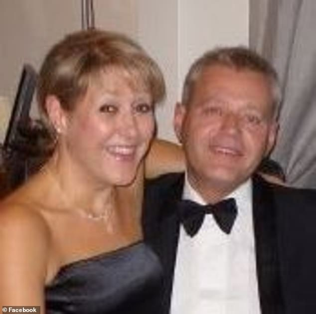 Jo Rust seen here with her husband Marcus Rust, who is also a Labour party member, who had to bring her dry clothes to the police station the day she was arrested