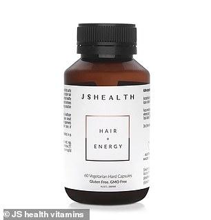 The JSHealth Hair + Energy Vitamins ($44.99)
