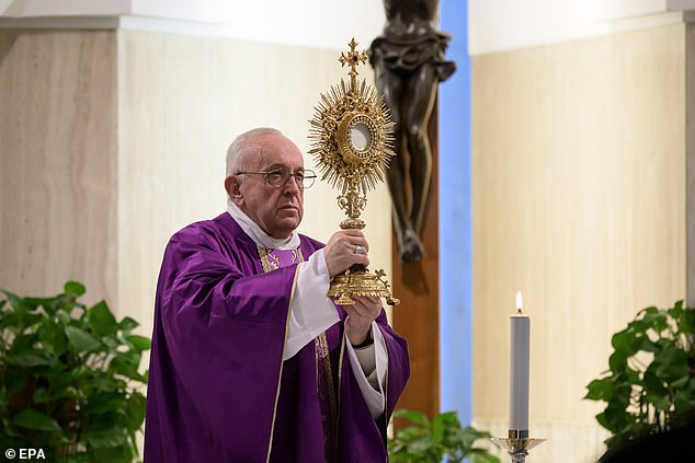Priestswere encouraged by Pope Francis to visit coronavirus patients and support healthcare workers and volunteers during the outbreak