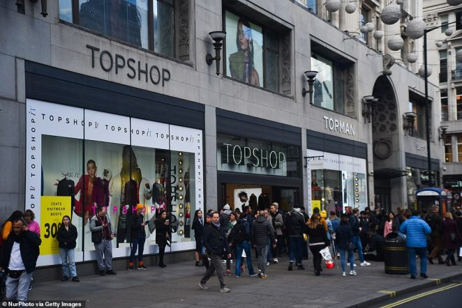 Topshop says deliverieser the ParcelShop service - being told they must close unless they sell essential items.