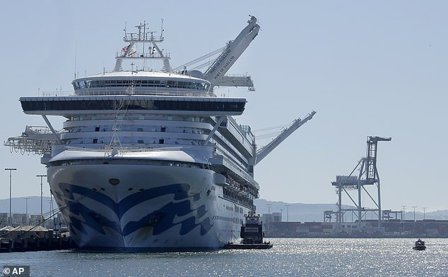 The Grand Princess ship was struck by an outbreak, when two passengers and 19 crew members tested positive for coronavirus in early March