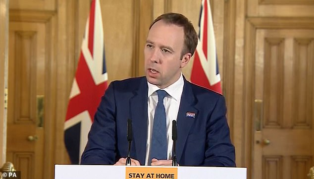 With immense pressure mounting on ministers to be more proactive with testing during the coronavirus crisis, Health Secretary Matt Hancock last night announced the purchase of the new antibody tests.
