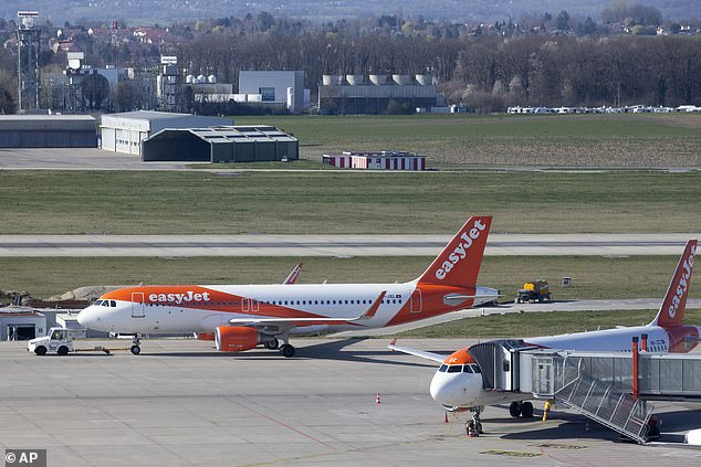 EasyJet is facing criticism for slashing staff's salaries by up to 67 per cent while bosses reportedly agreed to just a 20 per cent salary decrease for themselves (stock image)