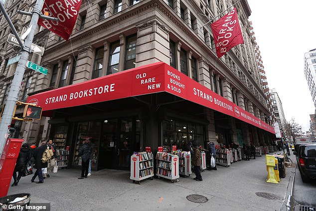 New York City's iconic Strand bookstore has announced it has laid off 188 employees and closed its doors indefinitely amid the city's coronavirus shutdown