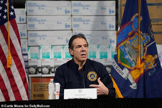 New York Gov. Andrew Cuomo said Tuesday that he needed the federal government to up its response to deal with the shortage of ventilators in the New York City area