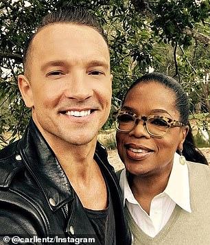 He has been interviewed by Oprah Winfrey
