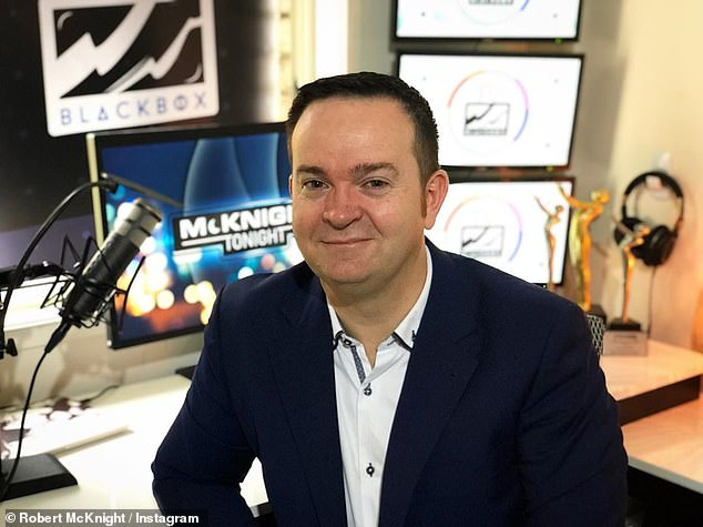 'Lives are at risk and this is more important than ratings and television shows':Former TV executive and editor of industry website TV Blackbox, Rob McKnight (pictured), spoke about entertainment changes on Tuesday's edition of the TV Blackbox podcast