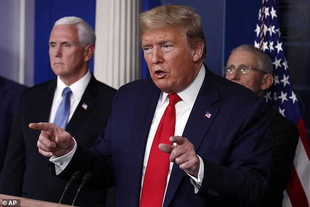 Trump said on Tuesday that his goal was a nationwide return to normalcy by Easter Sunday on April 12, in a bid to restart the economy and get millions back to work