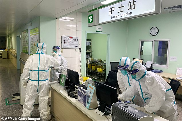 Weber shared that the regimen is based off experimental treatments that were done in China.A clinical trial into the effectiveness of intravenous vitamin C patients with coronavirus was conducted on February 14 at Zhongnan Hospital (pictured) in Wuhan, China