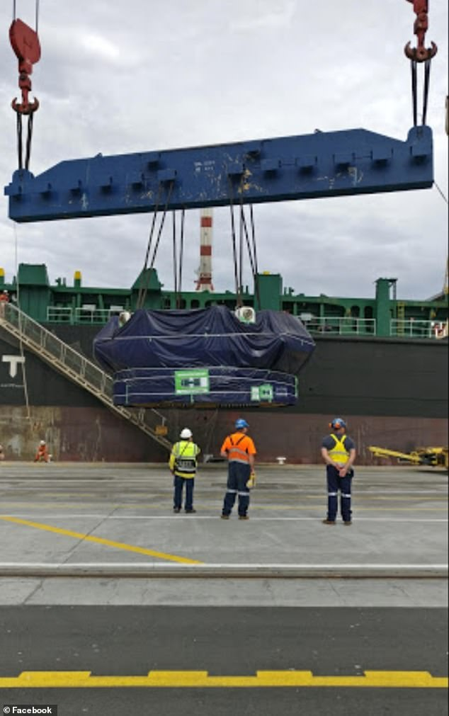 Melbourne stevedores are worried they've been forced onto a container vessel infected with the deadly coronavirus