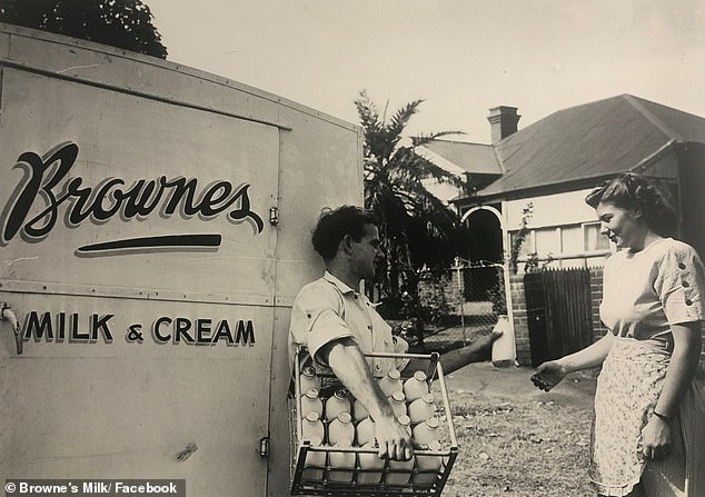 Australia's oldest dairy company Brownes Dairy has revived its iconic 'milkman' service to help cope with the high demand amid coronavirus pandemic