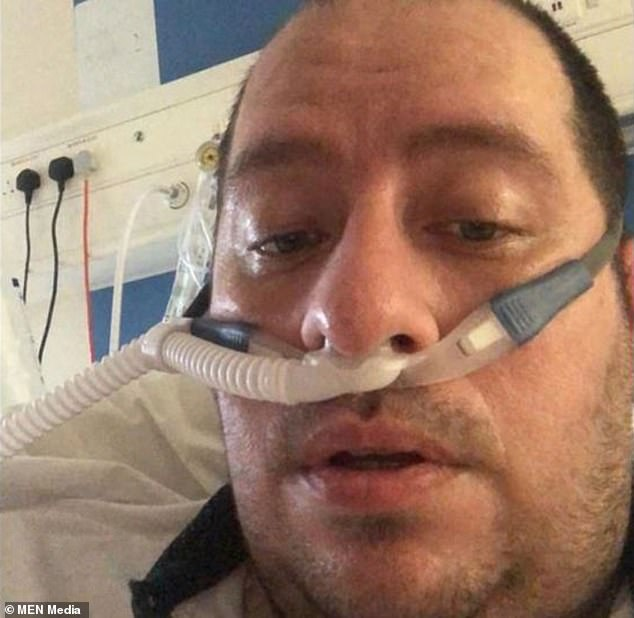 Matt Dockray, from Buckinghamshire, has urged Britons who might think they are 'invincible' to 'not be an idiot' and abide by measures put in place to prevent the spread of the virus