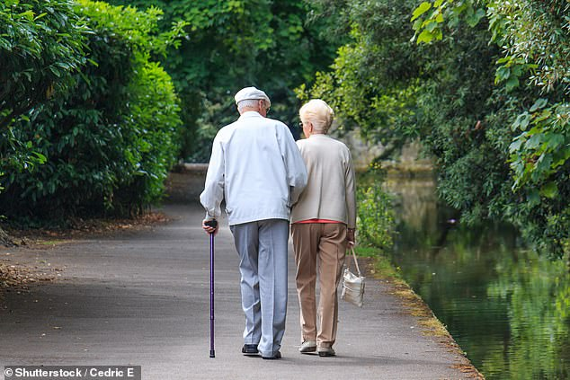 More than one in five people in England will be over 65 before the end of the decade, official projections show (stock image)