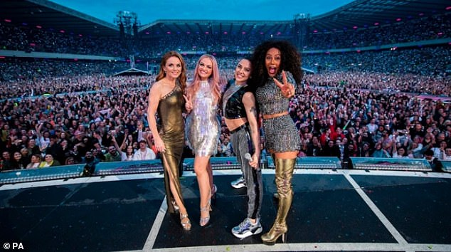 Coming back for more?The singer, 46, has admitted that she is hopeful the band will reform again, like they did in 2019, and this time tour America