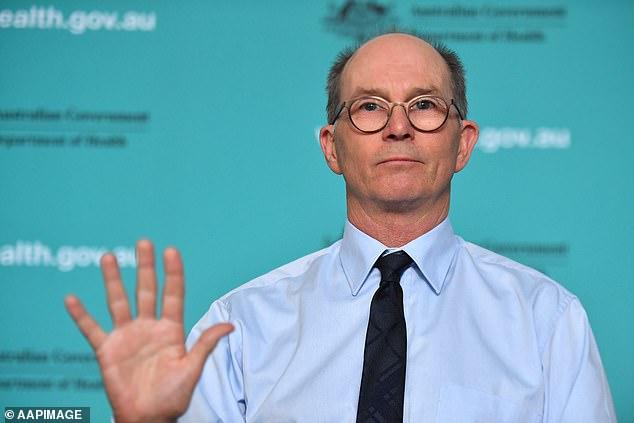 Deputy chief health officer Paul Kelly said Australia's coronavirus cases jumped to 2,250 on Wednesday