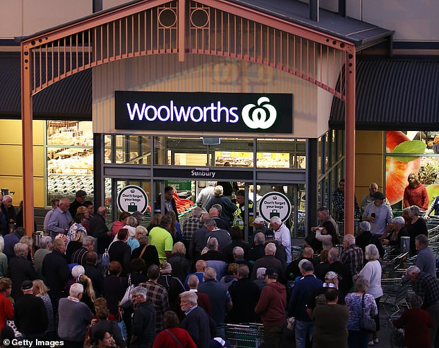 The move comes a week after Woolworths announced it will open doors to vulnerable groups exclusively from 7am to 8am amid coronavirus panic buying