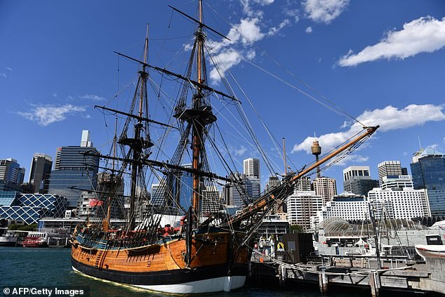 A tall ship voyage around Australia to remember Captain Cook is set to go ahead in six weeks despite state border closures to prevent the spread of coronavirus