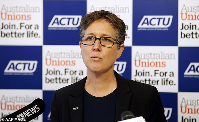 ACTU secretary Sally McManus said the scale of unemployment will skyrocket as the retail, hospitality, transport, personal services, arts and recreation industries will continue to suffer major job losses due to health-ordered business shutdowns