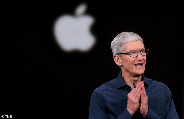 Apple is to donate 9 million N95 protective masks to help protect medical staff from contracting the coronavirus. The Vice President spoke with CEO Tim Cook, pictured