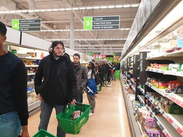 Coronavirus UK: Are supermarkets the new superspreaders? | Daily ...