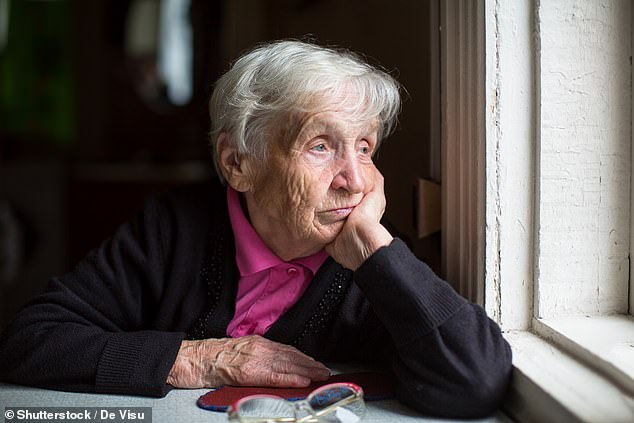 Researchers found that cutting off over-50s from transport, retail and leisure facilities serves to increase feelings of isolation and depression(stock image)