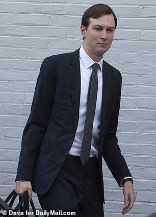 Jared Kushner leaves his Washington D.C. home