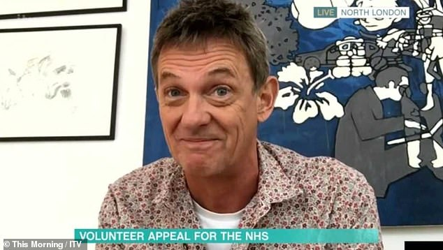 Hitting out: This Morning's Matthew Wright has slammed those who are still not listening to the government's guidelines to stay at home and branded them 'idiots'