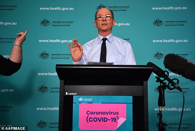 The nation's Deputy Chief Medical Officer Professor Paul Kelly says 'there's no need to be alarmed' as Australia grapples with the effects of the coronavirus pandemic